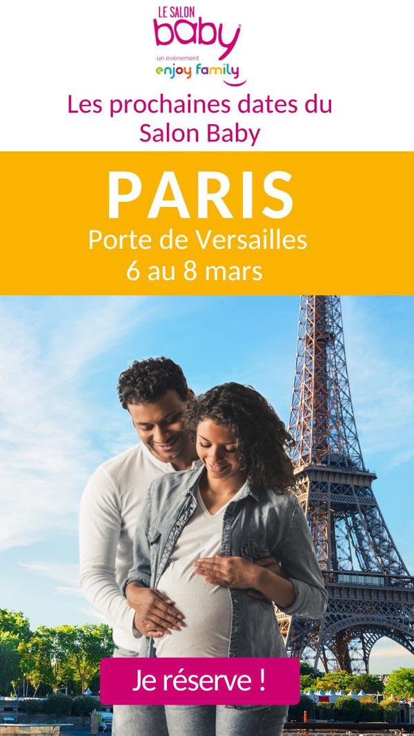 SALON BABY PARIS LES 6, 7 ET 8 MARS 2020 - PARC EXPO PORTE DE VERSAILLES