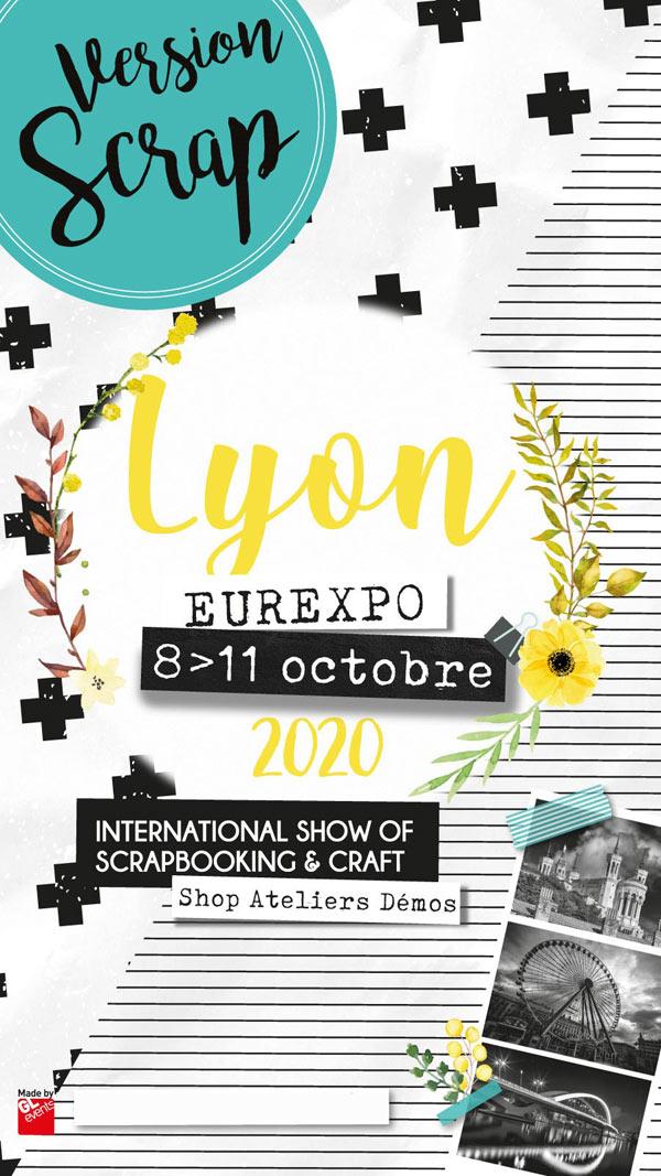 VERSION SCRAP LYON LE SALON DU SCRAPBOOKING - EUREXPO LYON